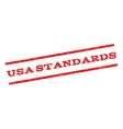 USA Standards Watermark Stamp vector image vector image