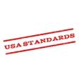 USA Standards Watermark Stamp vector image