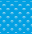 wash service pattern seamless blue vector image vector image