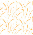 whole grain natural organic background for vector image vector image