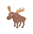 Deer icon cartoon style vector image