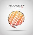 balloon icon design vector image vector image