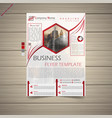 business flyer vector image vector image