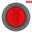 curling stone equipment vector image vector image