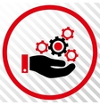 Mechanics Service Icon vector image