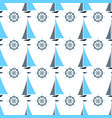 sail oat and ship steering wheel seamless pattern vector image vector image