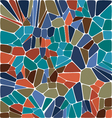 tile abstract composition with ceramic geometric s vector image
