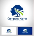 Tree Logo Design Creative vector image vector image