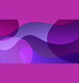 violet abstract geometric background eps10 vector image vector image