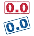 00 Rubber Stamps vector image vector image