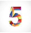 5 color vector image vector image