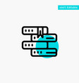books education library study turquoise highlight vector image