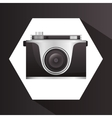 Camera equipment design vector image