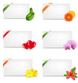 gift tag vector image vector image