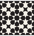 Seamless Black White Geometric Pattern vector image vector image