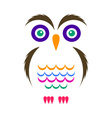 Simple owl icon vector image vector image