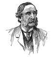 thomas wentworth higginson vintage vector image vector image