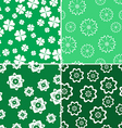 green nature pattern 4 style vector image
