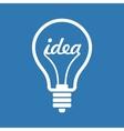 Creative Idea in Bulb Shape as Inspiration Concept vector image