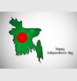 bangladesh independence day vector image