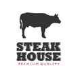 bbq steak house premium quality image vector image vector image