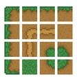 Box game level objects - land bush road