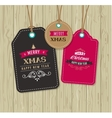 Christmas Sale Gift Tags and lables vector image vector image