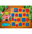 Circus game vector image