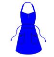 Kitchen apron vector image vector image