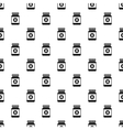 Medicine bottle pattern simple style vector image vector image