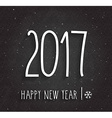 New year 2017 design vector image vector image