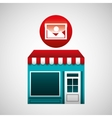 online market buying image graphic vector image