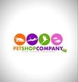 Pet Shop Design Concept vector image