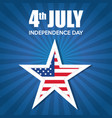 usa independence day star vector image