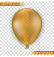 3d realistic colorful balloon vector image vector image