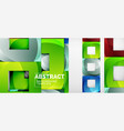 abstract squares geometric background can be used vector image vector image
