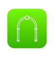 Arch icon digital green
