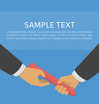 business relay concept vector image vector image