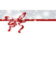 christmas and new year background design vector image vector image