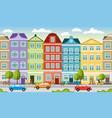 city landscape in summer can also be used as a vector image vector image