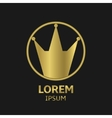 Crown Emblem vector image