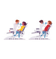 male and female dentist doctor vector image