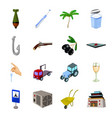 mongolia garbage computer and other web icon in vector image vector image