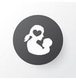 newborn baby icon symbol premium quality isolated vector image vector image