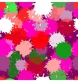 seamless colorful blotch pattern vector image