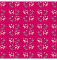 Seamless pattern of two different colored cats go vector image vector image