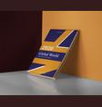 Simple book cover design template