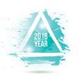 watercolor-blue-year vector image vector image