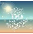 Beautiful Seaside View Poster Set of background vector image