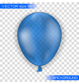 3d realistic colorful balloon vector image